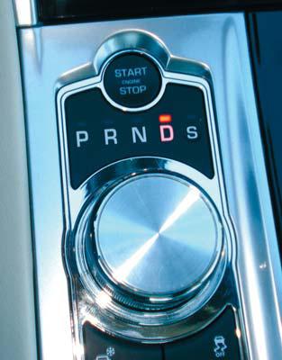 """""""Spareffekte"""" erzielt Jaguar auch mit dem neuen Drive-Selector."""