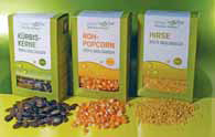 Bio-Roh-Popcorn aus dem Urkorn