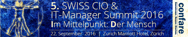 Swiss CIO IT-Manager Summit 2016