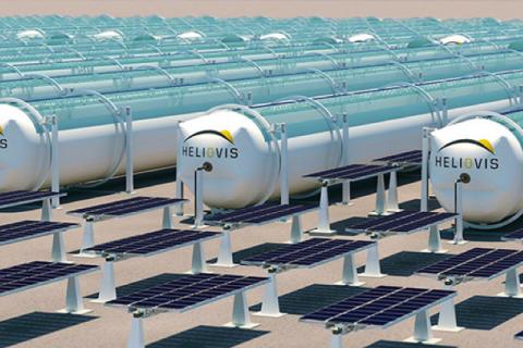 Aufblasbare Kunststoffschläuche zur solaren Energiegewinnung