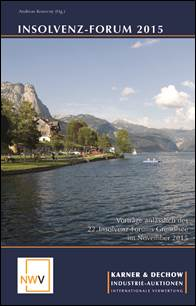 Insolvenz-Forum 2015 (NWV Verlag)