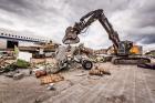 Grazer Unternehmen Schrott 24 zerlegt belgisches Regierungsflugzeug: 100 Tonnen Aluminium, Titan, Kupfer und Stahl.