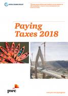 Paying Taxes 2018: Österreich im internationalen Steuerwettbewerb auf Platz 39 von 190 Volkswirtschaften